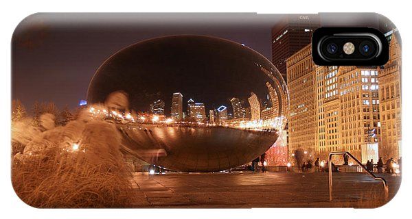 The Bean On A Winter Night IPhone Case