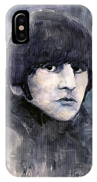 The iPhone Case - The Beatles Ringo Starr by Yuriy Shevchuk