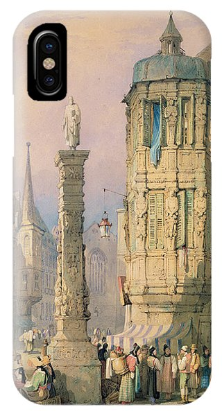 Palace iPhone Case - The Bishop's Palace Wurzburg by Samuel Prout