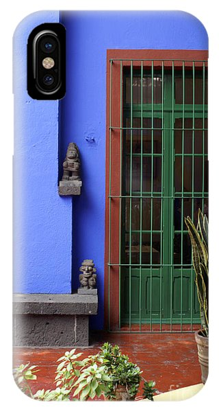 The Blue House Mexico City IPhone Case