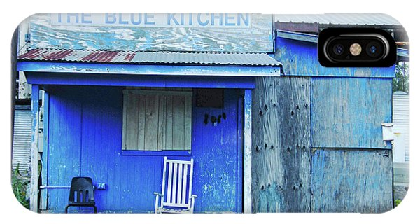 The Blue Kitchen IPhone Case