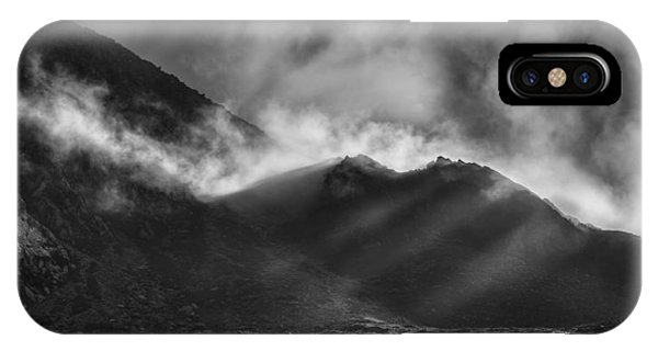 The Chancel In Black And White IPhone Case