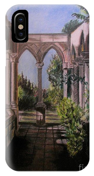 The Cloisters Colonade IPhone Case