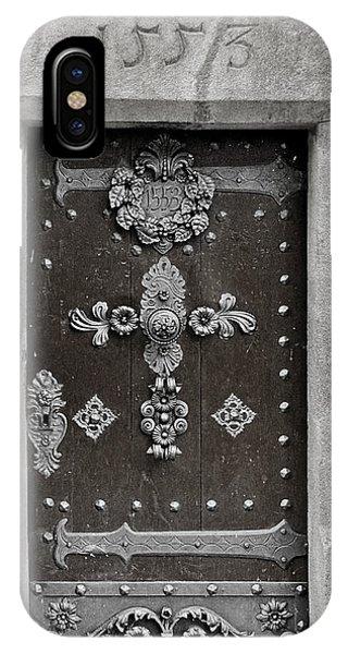 The Door - Ceske Budejovice IPhone Case