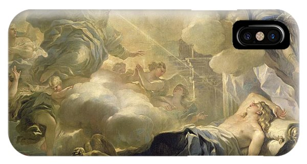Chaise iPhone Case - The Dream Of Solomon by Luca Giordano