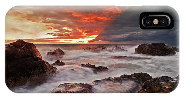 The Edge Of The Storm IPhone Case