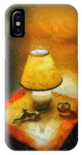 The Evening Lamp IPhone Case