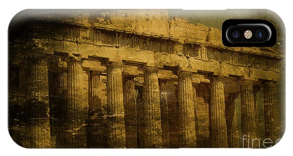 The Fall Of Athens IPhone Case