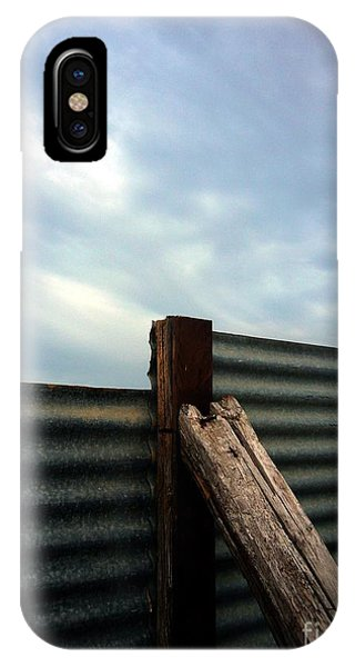 The Fence The Sky And The Beach IPhone Case