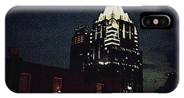 Artwork iPhone Case - The Frost Bank Tower by Natasha Marco