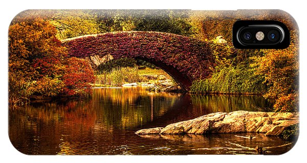IPhone Case featuring the photograph The Gapstow Bridge by Chris Lord