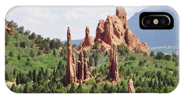 The Garden Of The Gods IPhone Case
