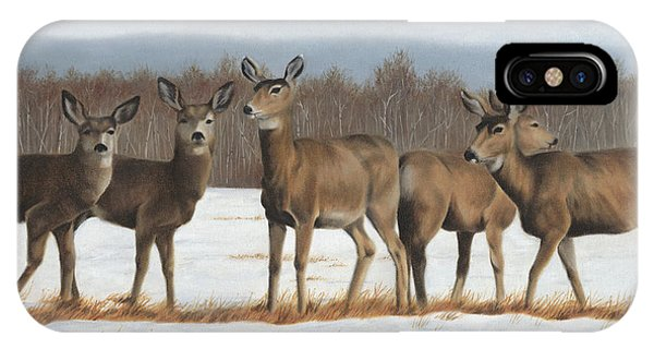 IPhone Case featuring the painting The Gathering by Tammy Taylor