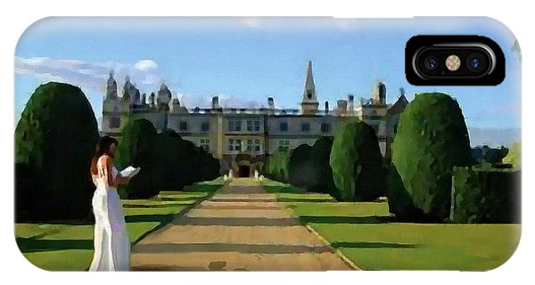 The Lady Of Burghley House IPhone Case