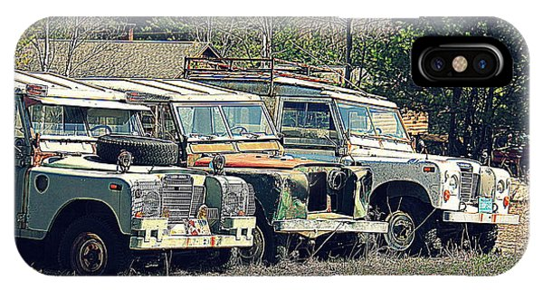 The Land Rover Graveyard IPhone Case