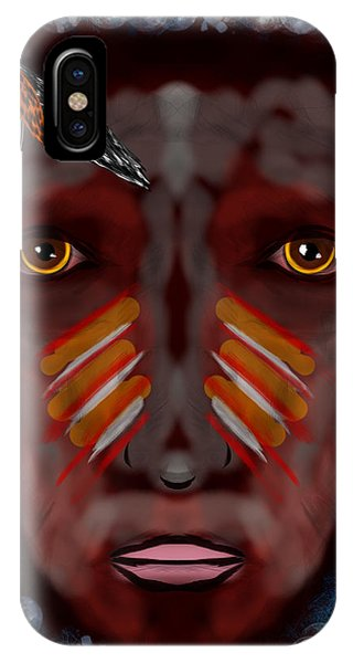 The Last Indian Dream Phone Case by Mathieu Lalonde