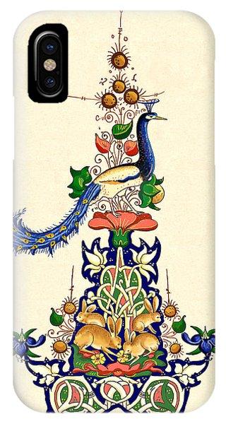 The Magnificent Peacock 2 Phone Case by Raffaella Lunelli