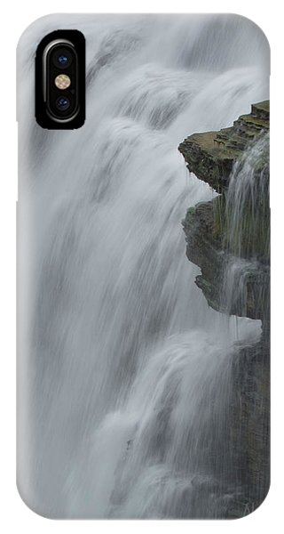 The Middle Falls I Phone Case by Neal Blizzard