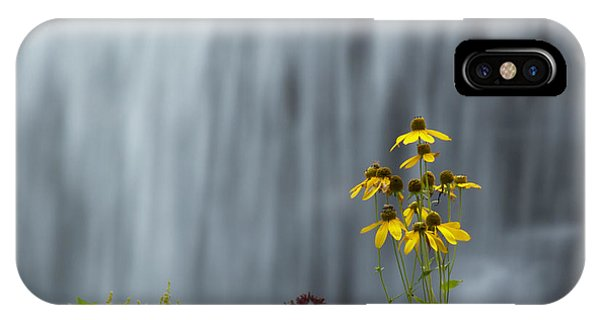The Middle Falls II Phone Case by Neal Blizzard