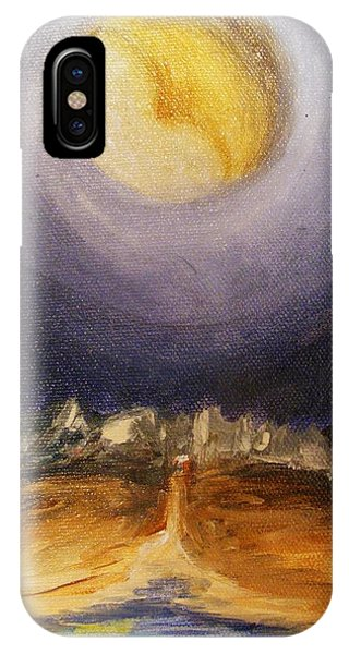 the Moon IPhone Case