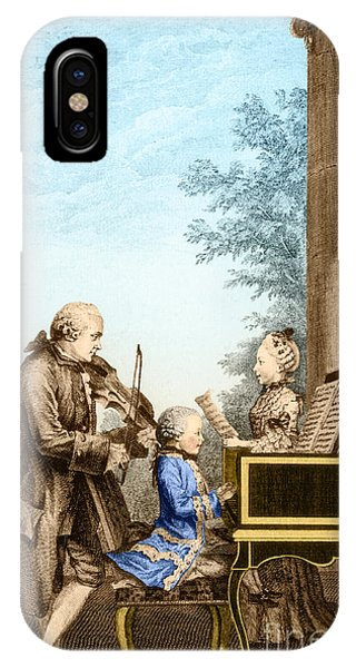 The Mozart Family On Tour 1763 IPhone Case