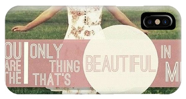 Beautiful iPhone Case - The Only Thing That's Beautiful In Me by Traci Beeson