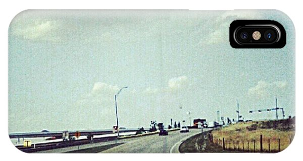 The Open Road #notraffic #random #hdr Phone Case by Kel Hill