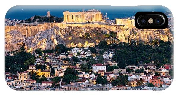 Greece iPhone Case - The Parthenon by Emmanuel Panagiotakis