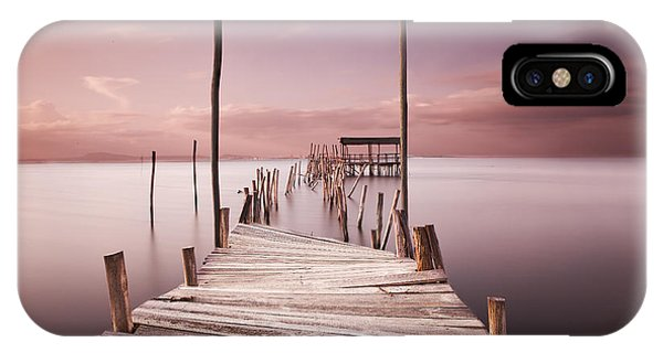 Pier iPhone Case - The Passage To Brightness by Jorge Maia
