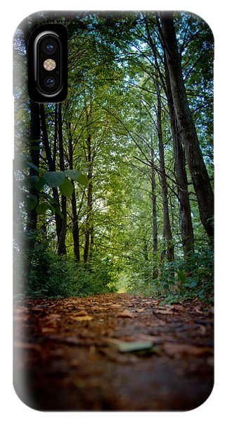 The Pathway In The Forest IPhone Case