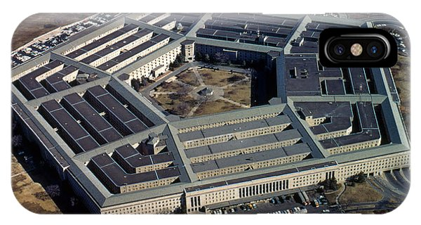 Department Of Defense iPhone Case - The Pentagon by Photo Researchers