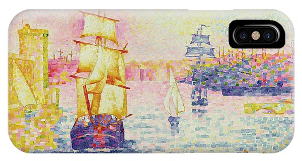 Sunbather iPhone Case - The Port Of Marseilles by Henri-Edmond Cross