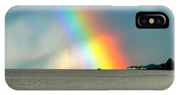 The Rainbow's Edge IPhone Case