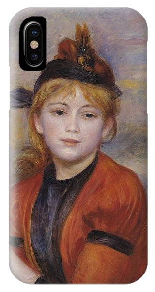 1895 iPhone Case - The Rambler by Pierre Auguste Renoir