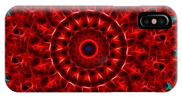 The Red Abyss IPhone Case