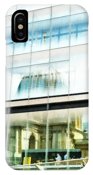 The Restaurant With A View Of St Pauls Cathedral IPhone Case