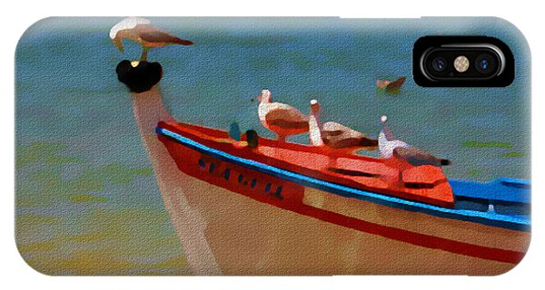 The Sea Gulls IPhone Case