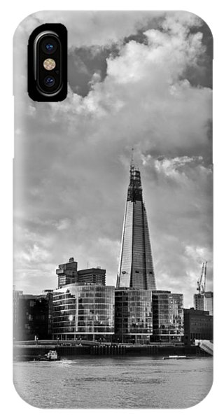 The Shard London Black And White IPhone Case