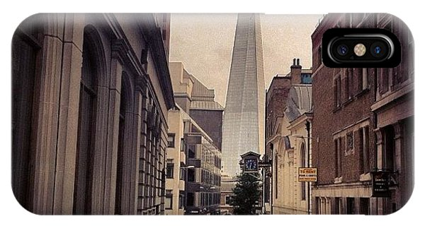 View iPhone Case - The Shard by Samuel Gunnell