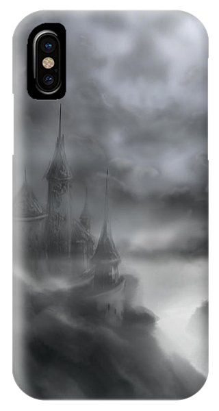 The Skull Castle IPhone Case