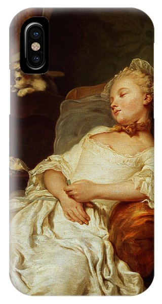 Sleeper iPhone Case - The Sleeper by Jean Francois Colson
