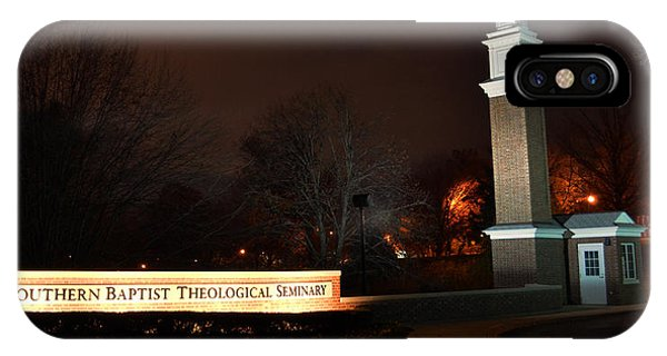 The Southern Baptist Theological Seminary Gate IPhone Case