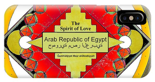 The Spirit Of Love Of The Arab Republic Of Egypt IPhone Case
