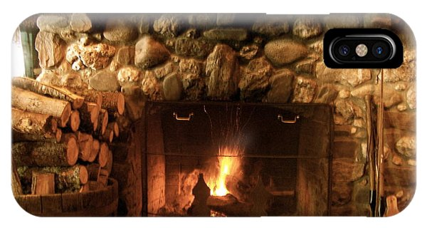 Stone Fireplace IPhone Case