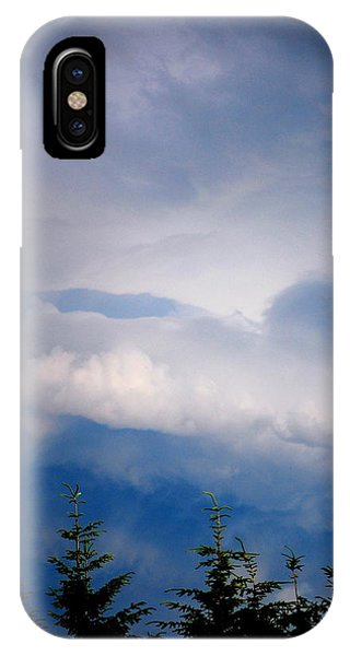 The Storms Brewing  IPhone Case