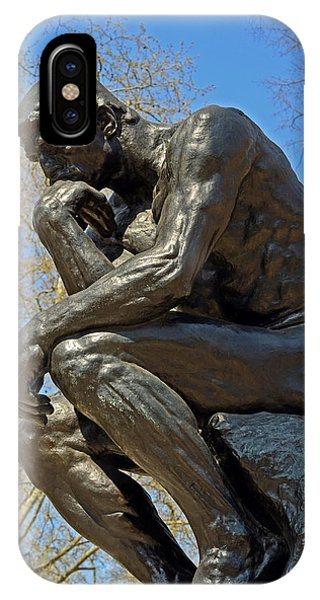 The Thinker By Rodin IPhone Case