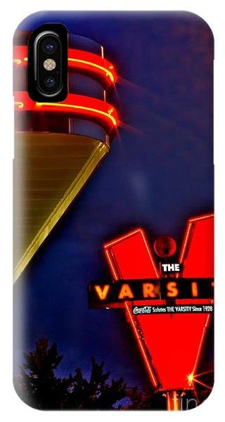 The Varsity Sign 2 Phone Case by Corky Willis Atlanta Photography