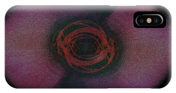 Violet Flame iPhone Case - The Vision by Tim Allen
