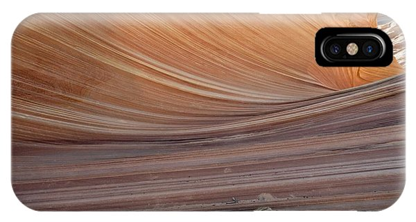 The Wave Rock Formation, Arizona, Usa Phone Case by Bob Gibbons