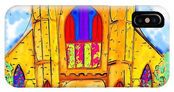 The Wedding Chapel IPhone Case